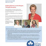 2019 CFUW AGM flyer