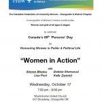 CFUW Orangeville & District Women in Action